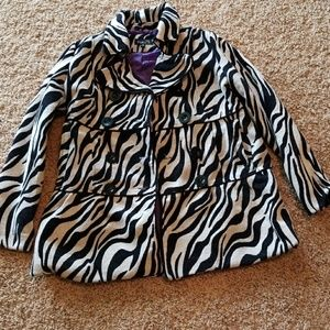 Zebra Winter Coat